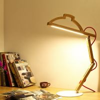 led阅读灯led护眼学习台灯led折叠护眼台灯触摸调光创意面光源