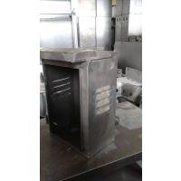 济南博达机柜厂家来图来样钣金加工不锈钢展柜