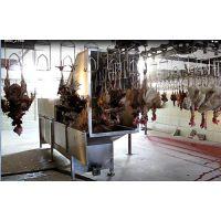 家禽屠宰设备:鸡鸭自动喷淋烫毛机