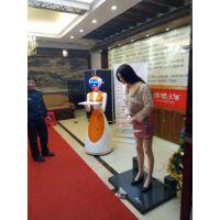 智能迎宾机器人 仿真美女礼仪模特前台机器人 语音互动自动迎宾