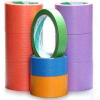3M244黄色美纹纸 3M和纸美纹纸 高温喷涂遮蔽纸胶带 防焊胶带50M