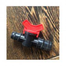 滴灌pvc给水管4分外丝开关接头链接pe管