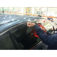 PVC隐形车衣与TPU透明保护膜区别石家庄英菲尼迪全车英国WINS透明车身保护膜