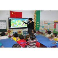 河南55寸幼儿园教学互动触摸一体机厂家直销