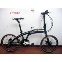 供应海豚款高档铝合金变速折叠车 广州自行车公司
