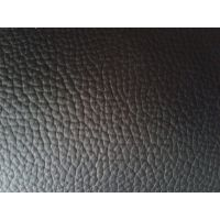 厂家爆销热款优质皮革、小黄牛荔枝纹、真皮黑白色批发