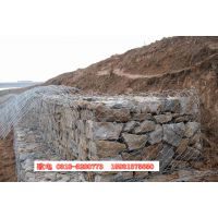 陕西商洛生态保护石笼网 河道护堤网 加固堤坝防护网 从瑞石笼网