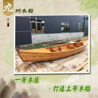 订做各种款式观光木船 钓鱼木船 捕鱼木船