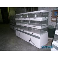 厂家直销 广州安德利面包展示柜 面包店边岛柜价钱 可定做