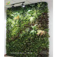 厂家专业制作仿真植物墙 绿植墙装饰 绿色植物背景墙 环保无味