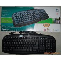 【厂家直供大量批发】 罗技标准200键盘 USB接口 承接 键盘