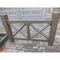 供应郑州天艺 X交叉型仿木护栏,河堤桥梁护栏、塑料模具