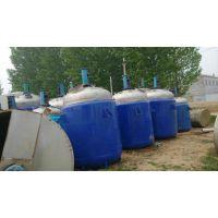 龙腾苏州低价处理优质8吨二手不锈钢反应釜