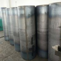 碳钢白铁皮圆形风管烟筒排风管道江苏安琪尔废气厂家直销焊接铁皮排烟管