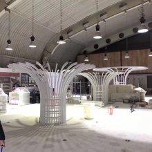 弧形铝方通 铝方管幕墙生产厂家(欧百得)木纹铝型材方管厂 铝合金方通规格