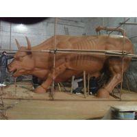 华尔街铜牛|博创雕塑|华尔街铜牛雕像