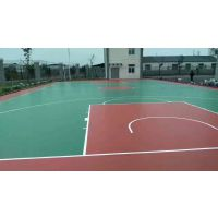 安徽硅PU球场 篮球场地面层施工 宣城市塑胶篮球场