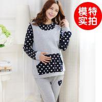 (新款出货了)孕妇装秋季套装 韩版时尚孕妇休闲秋款套