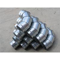 江大螺旋风管厂生产市场上通用的各种弯头规格