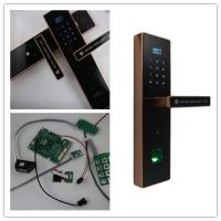 指纹锁主板方案设计,密码锁/密码门锁主板方案设计