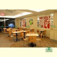 特价罗湖快餐厅桌椅直销 广州甜品店板式桌子批发 龙岗餐厅桌椅运达来定制