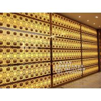 供应杭州酒店大堂不锈钢屏风 酒店装饰屏风隔断