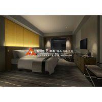 商务酒店宾馆套房家具-酒店标间客房家具-华艺顺鑫酒店家具