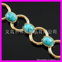 义乌饰品批发 中东饰品  绿松石手镯手链  没现货需定做1530164