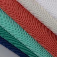 厂家订购批发 纬编涤纶针织玉米格染色布 女装时装运动服专用面料