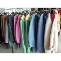 品牌折扣女装,高档双面呢大衣批发,纯手工缝制,高档精品女装批发13380111690