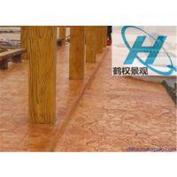 新疆压模地坪厂家彩色水泥销售