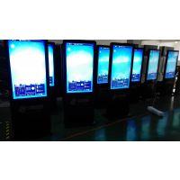 上海松江广告机厂家直销供应43寸落地竖屏直角触摸一体机高清液晶屏