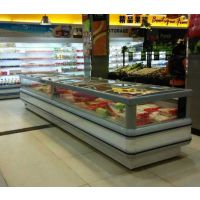 BND-20 彬诺厂家直销超市冷冻岛柜 大型超市连锁专用冷冻岛柜 卧式岛柜