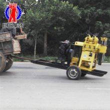 华夏巨匠XYX-180轮式水井钻机 180米行走式打井机 百米回转式钻机价格