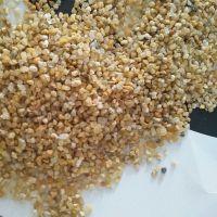 热销3-6mm天然海沙滤料 临沂园艺用海砂颗粒 石子