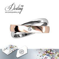 戴思妮 欧美戒指 采用施华洛世奇元素 女士饰品 水晶戒指厂家直销