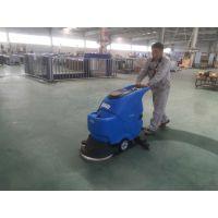 聊城工厂用容恩R50B手推式洗地机