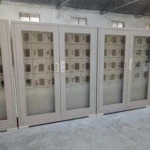 锦祥部队手机柜 透明玻璃门亚克力手机存放箱 30门手机保存柜价格多少