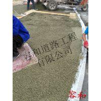 透水混凝土在各城市实例应用_承接全国【河北/北京】透水地坪工程施工