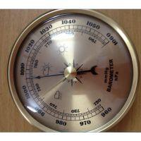 供应70mm金属空膜盒气压计晴雨表