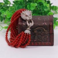 水晶坊 天然水晶 红玛瑙手链