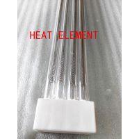 热元批发玻璃烘干中波透明红外线加热管 印花机用红外线加热管