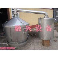 延安酿酒设备,包教技术白酒设备厂,双层保温行吊式酿酒设备