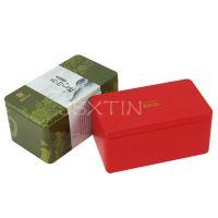 安徽黄山毛峰绿茶铁盒 徽州绿茶叶包装盒 毛峰毛尖马口铁盒
