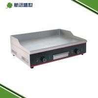 双头电热平扒炉|电热煎鱿鱼机器|台式煎牛排机器|煎鱼豆腐机器