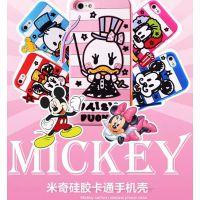 迪士尼 iphone5 5s 马戏团手机壳 苹果5硅胶卡通情侣  涂鸦保护套