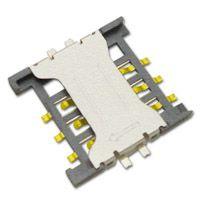 台湾硕方电子科技有限公司供应PUSH-PULL型识别卡座 SIM卡連接器 SMO-1502