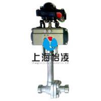 低温阀门|上海怡凌DQ661气动低温焊接球阀 优质品质出厂价 欢迎来电