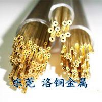 现货促销厚壁黄铜管 精密黄铜毛细管H65 黄铜雕花管 规格齐全