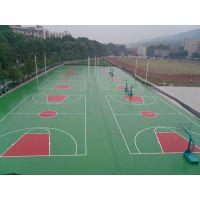 浙江天蕉体育SJ3-6MM硅PU网球场现浇施工